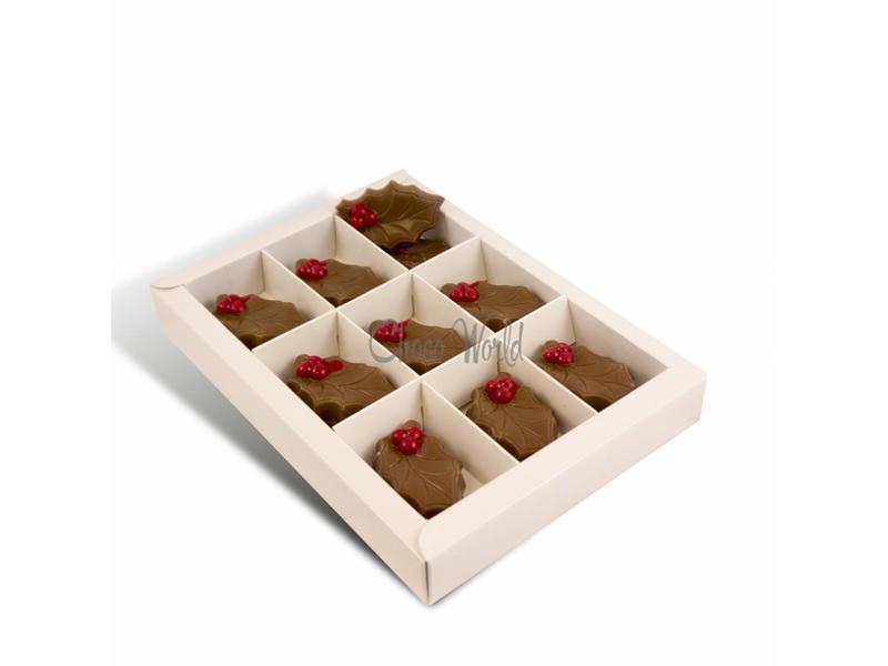 Chocolaterie Vink Chocolade Hulstblaadjes Melk