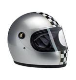 Biltwell Gringo S Le Checker Metallic Silver - Biltwell