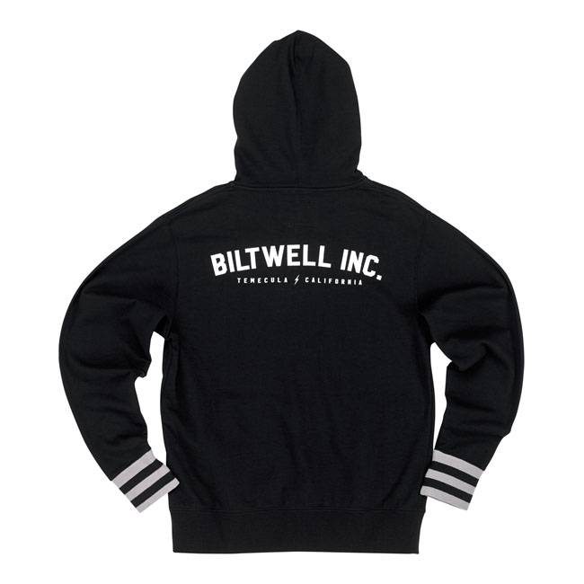 Biltwell Zip Hoodie Basic Black - Biltwell