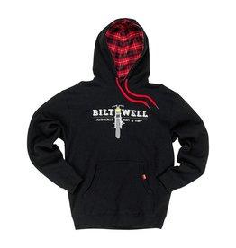 Biltwell Pullover Hoodie Parts Black - Biltwell