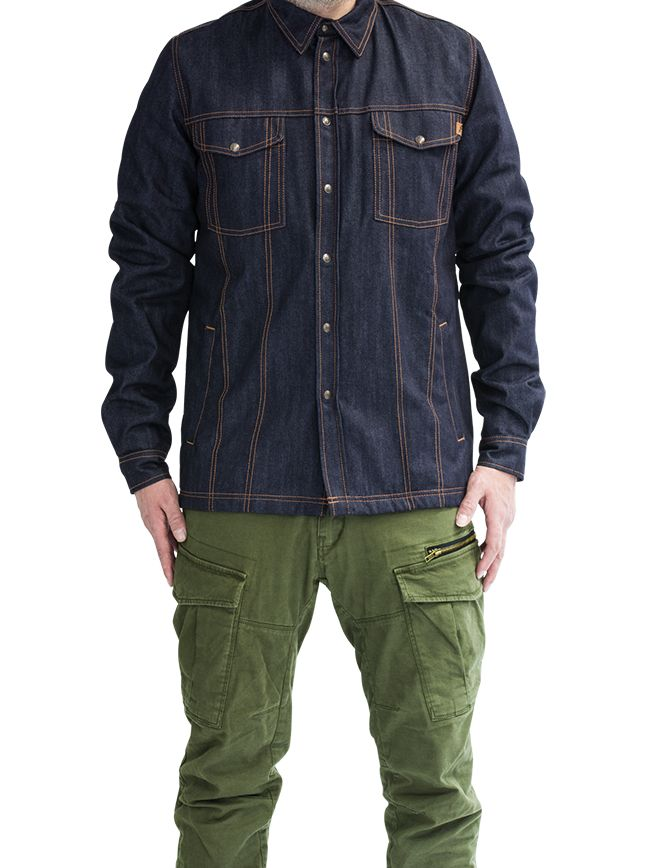 John Doe Lumberjack Shirt Raw Denim - John Doe