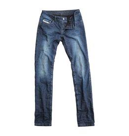 John Doe Betty Vintage Slim High waist Indigo - John Doe