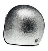 Biltwell Bonanza Brite Silver Megaflake - Biltwell