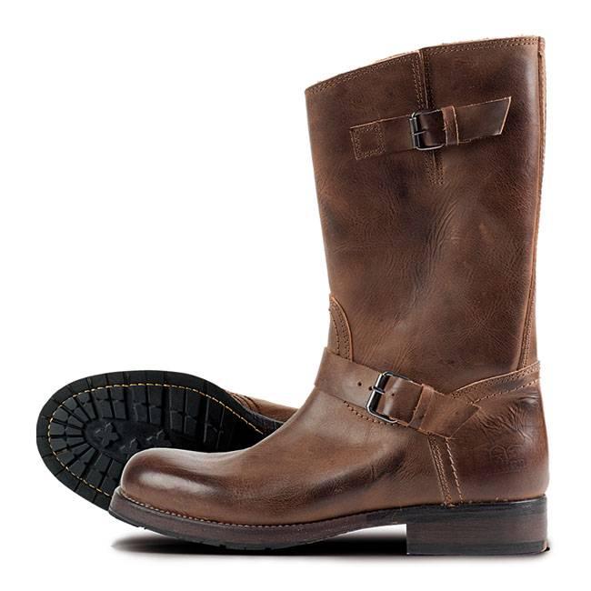 Rokker Cruiser Boots Brown