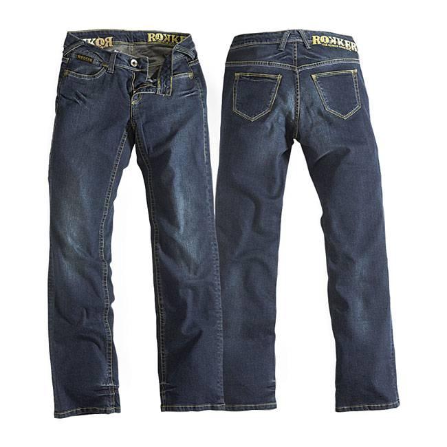 Rokker Stonewashed Lady Jeans - Rokker