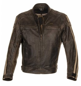 Richa Retro Racing Dark Brown - Richa