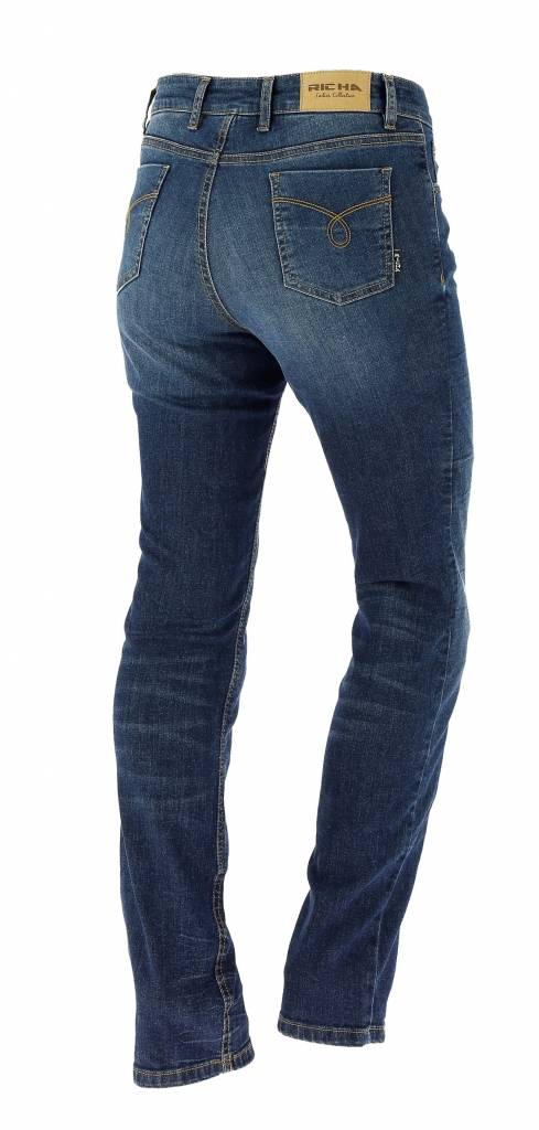 Richa Nora Washed Blue Jeans - Richa