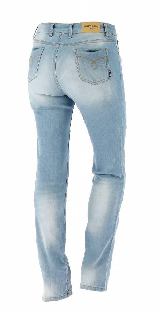 Richa Nora Denim Blue Jeans - Richa