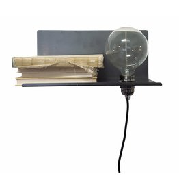 Stoer Metaal wall lamp Pear, right
