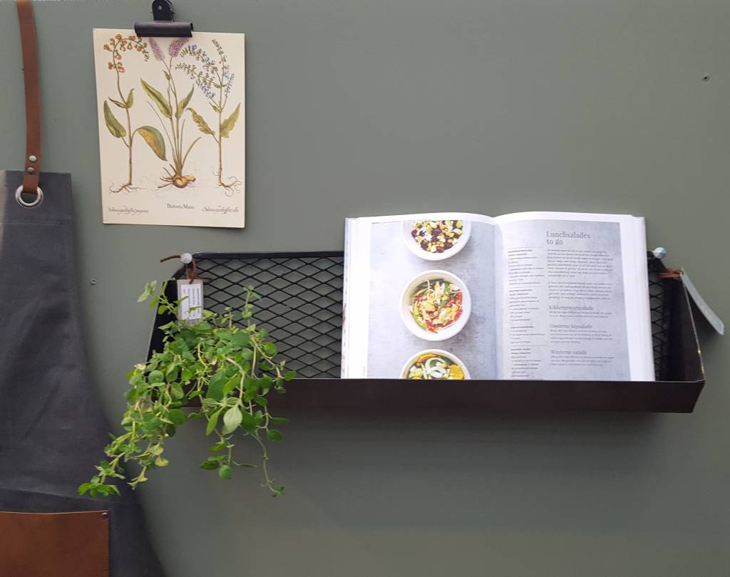 Brut wall shelf