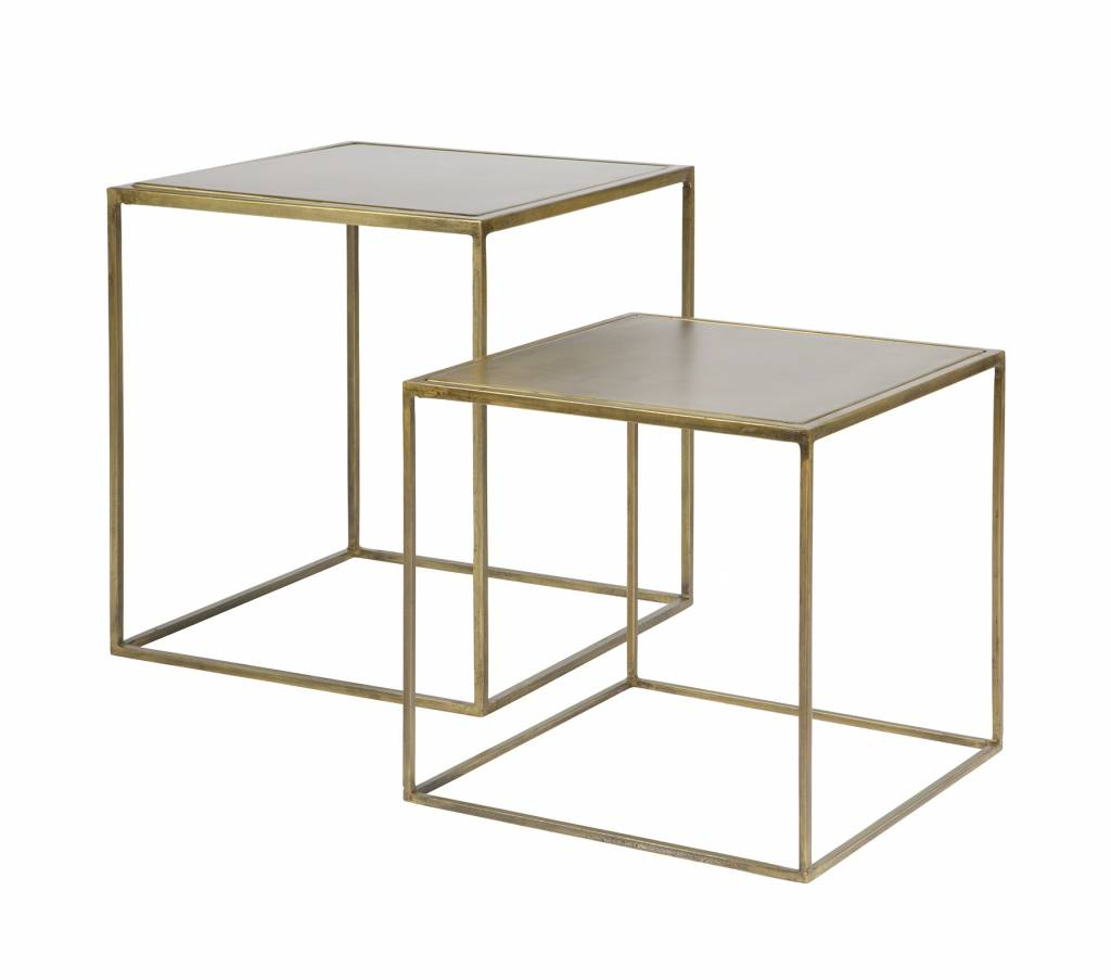BePure side table set brass