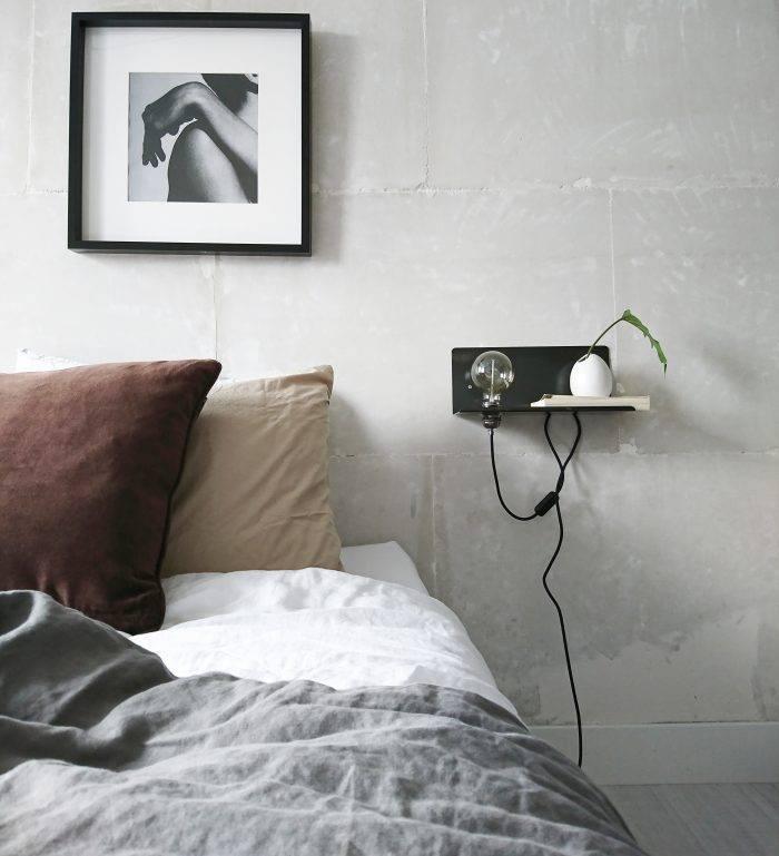 Stoer Metaal Peer wall lamp, left