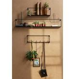 Woood wall shelf Meert, 50 or 100 cm