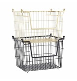 House Doctor basket Taw, stackable