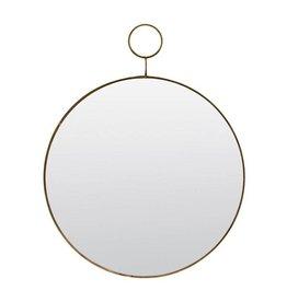 House Doctor mirror The Loop, golden