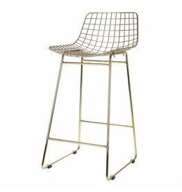 HK Living barstool wire, gold