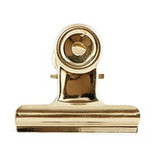 House Doctor klem, Office clip, 50 mm, goud