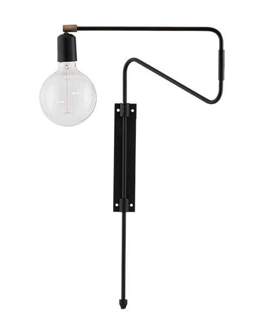House Doctor wall lamp, Swing
