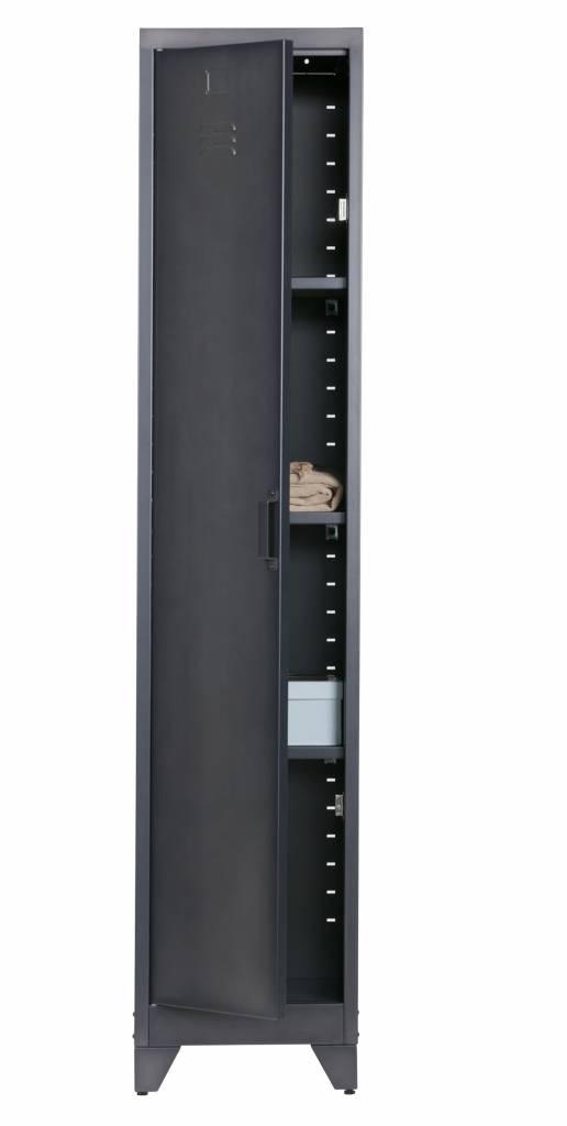 Woood metalen lockerkast Cas, 1 deurs