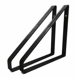 Stoer Metaal ijzeren plankdragers , 21 of 31 cm