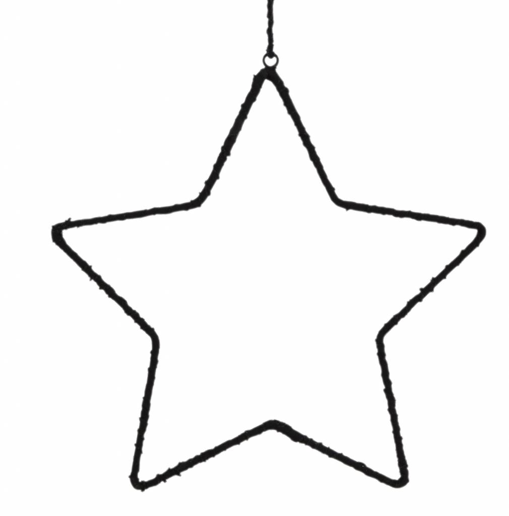 Madam Stoltz ster, zwart