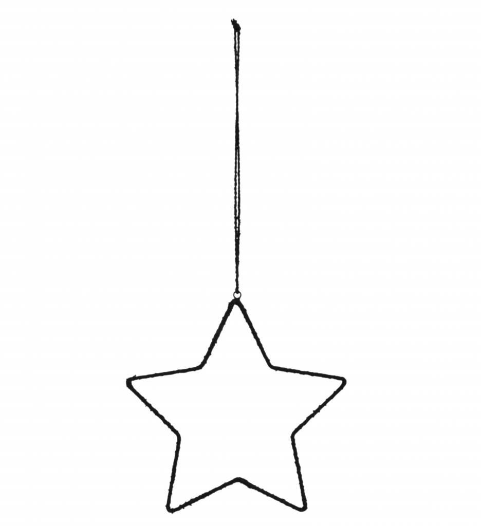 Madam Stoltz star, black