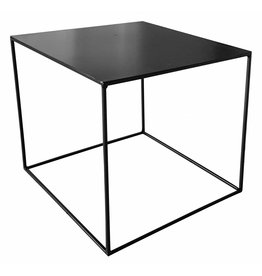 Stoer Metaal side table Cube, black