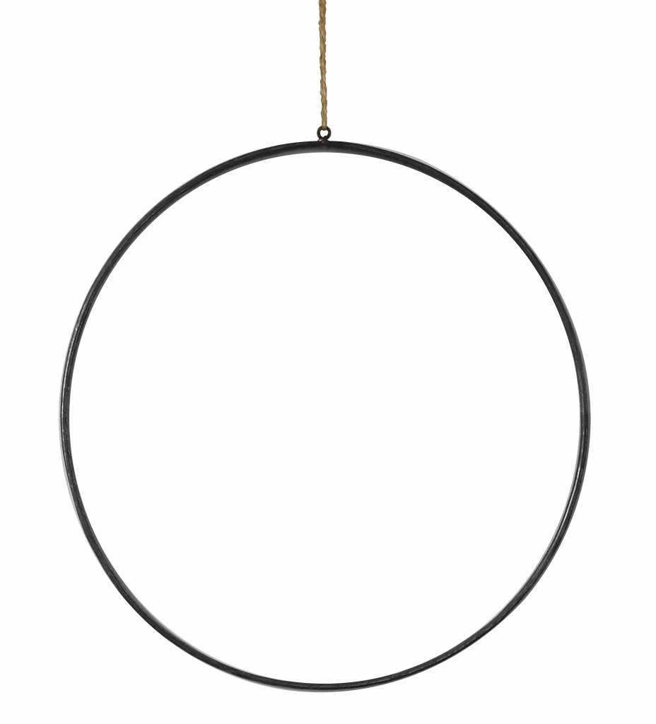 Stoer Metaal ring XL, metal