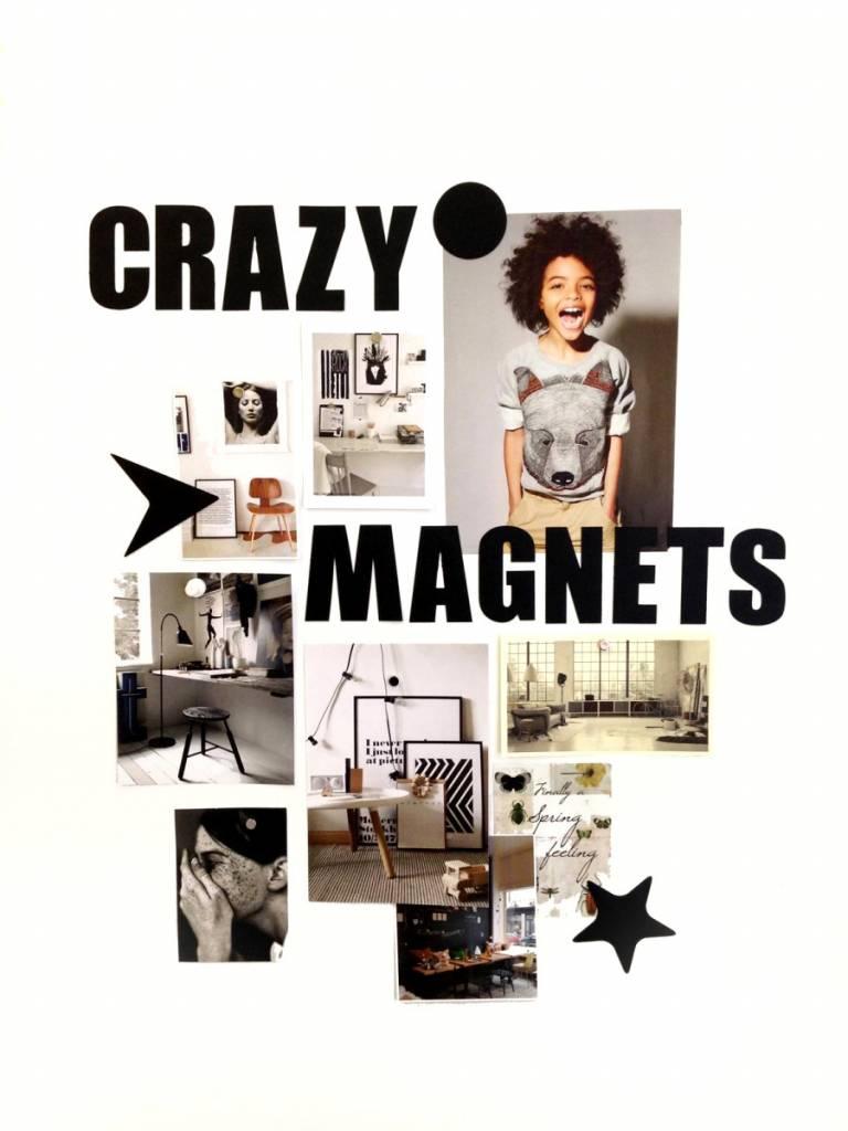 Groovy Magnets magneten, ABC, goud
