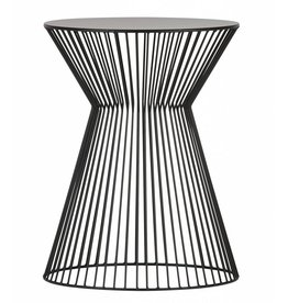 Woood side table Suus, black