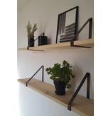 Stoer Metaal ijzeren plankdragers, 21 of 31 cm