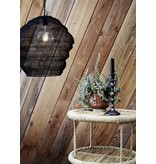 Madam Stoltz lampshade Knitted Wire, black