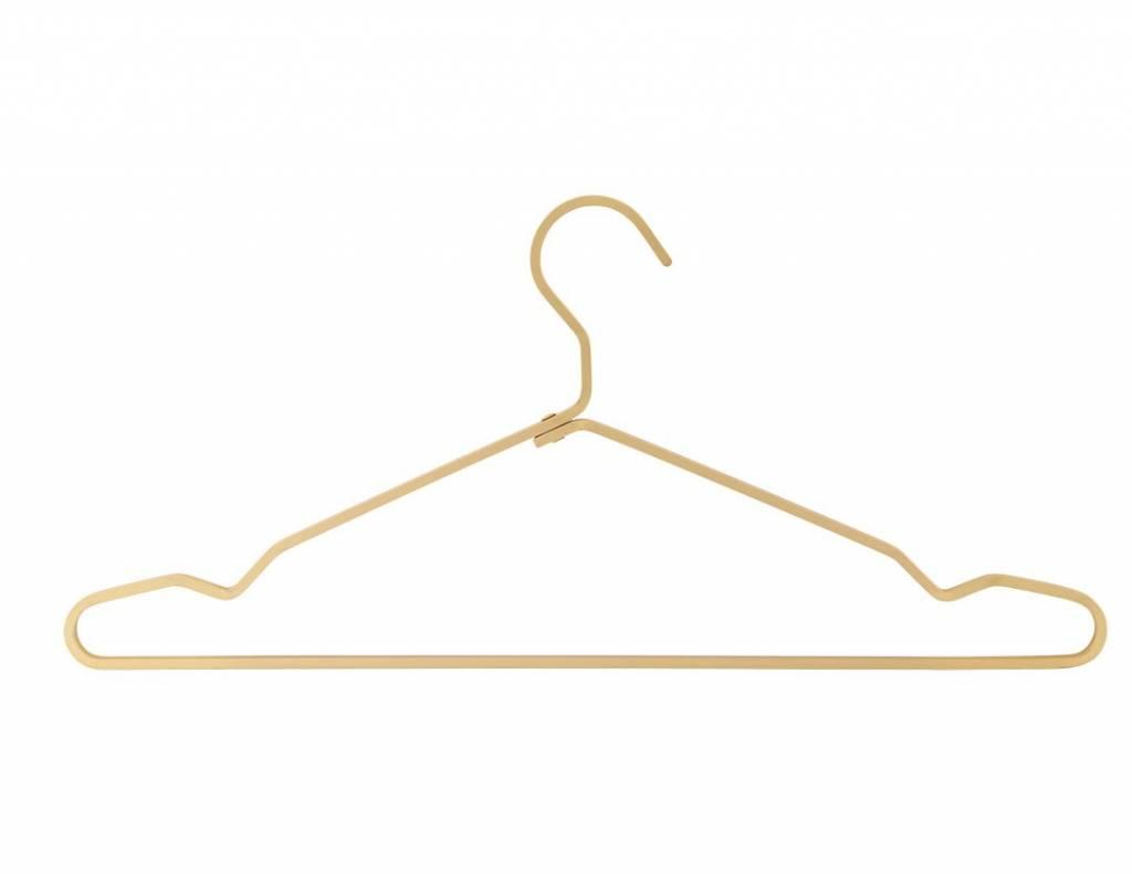 House Doctor kledinghanger, goudkleurig