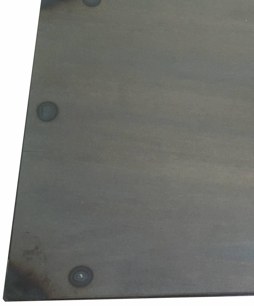 Stoer Metaal side-table bijzettafel Ruw