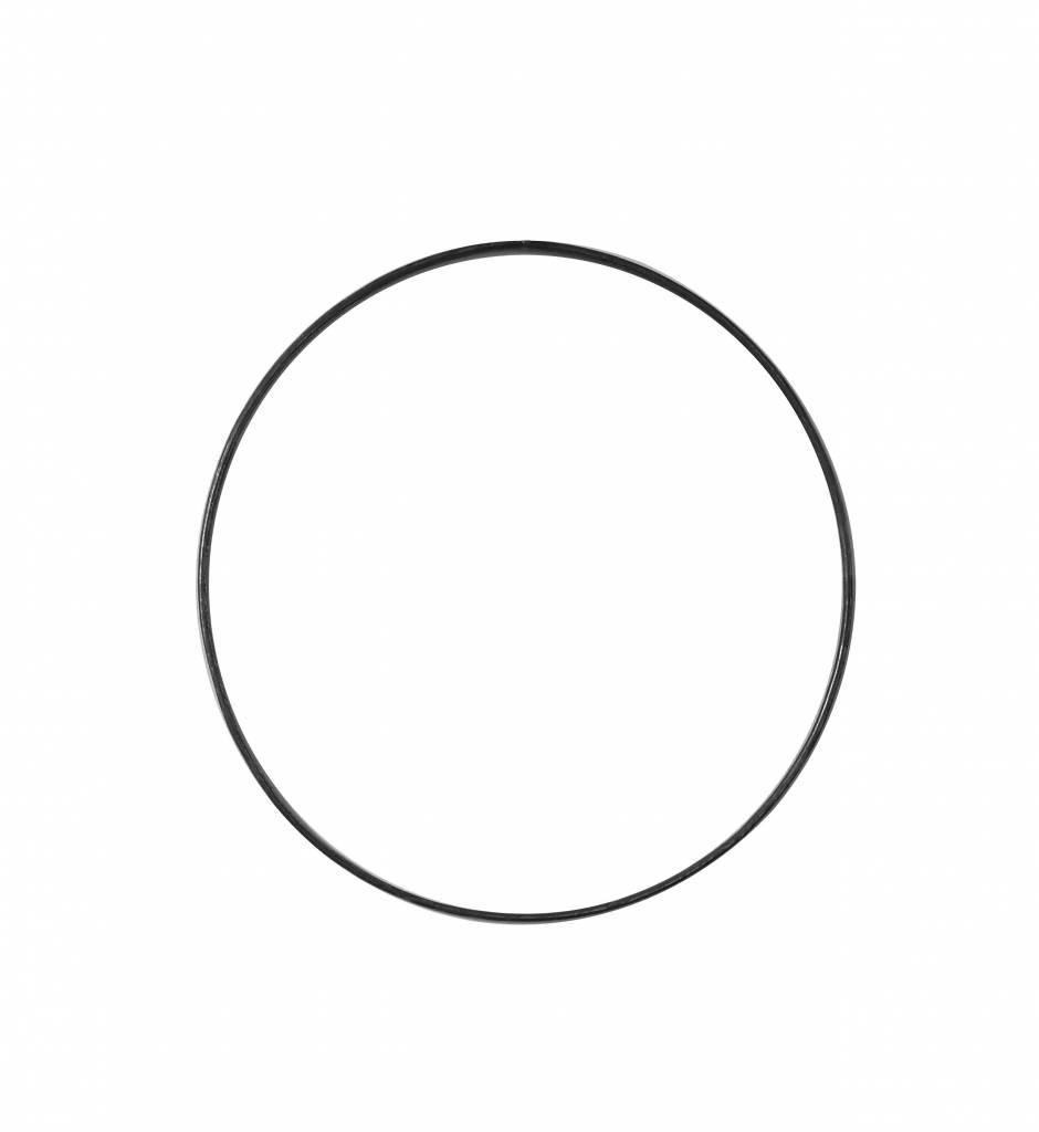 Stoer Metaal ring, metal ⌀ 20 cm