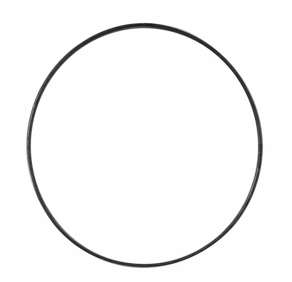 Stoer Metaal ring XL, metaal