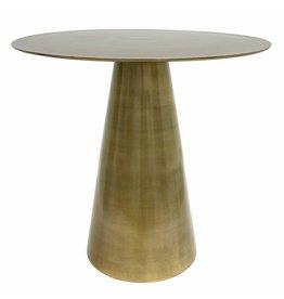 HKliving side table, brass
