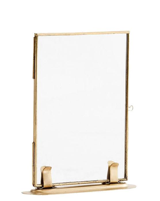 Madam Stoltz frame, standing, 10x15, gold
