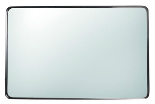 LifeStyle mirror Nahla, rectangular, black