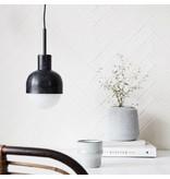House Doctor hanglamp Glow, zwart geoxideerd