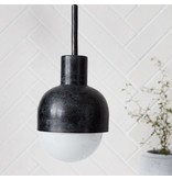 House Doctor hanging lamp Glow, black oxidized