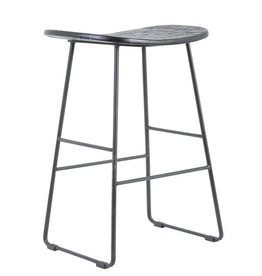 - bar stool Tripas, black