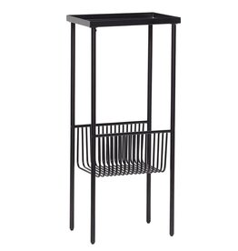 Hübsch side table, black