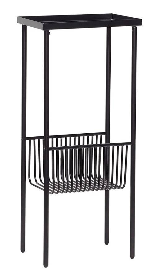 Hübsch side table, black