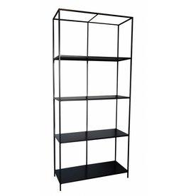 Stoer Metaal metal cabinet Line, black