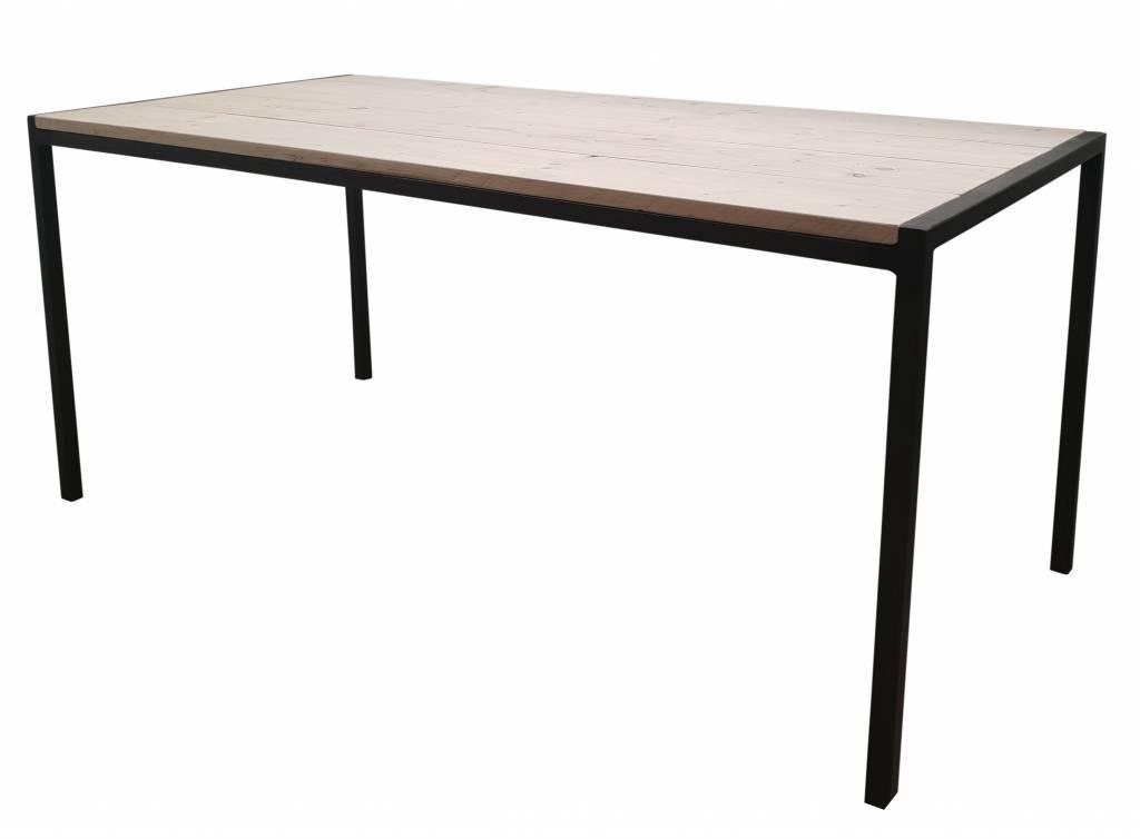 Metalen Onderstel Voor Tafel.Eettafel Tafel Stoer44 Stalen Onderstel