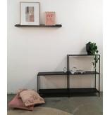 Stoer Metaal iron cabinet Hoek, black
