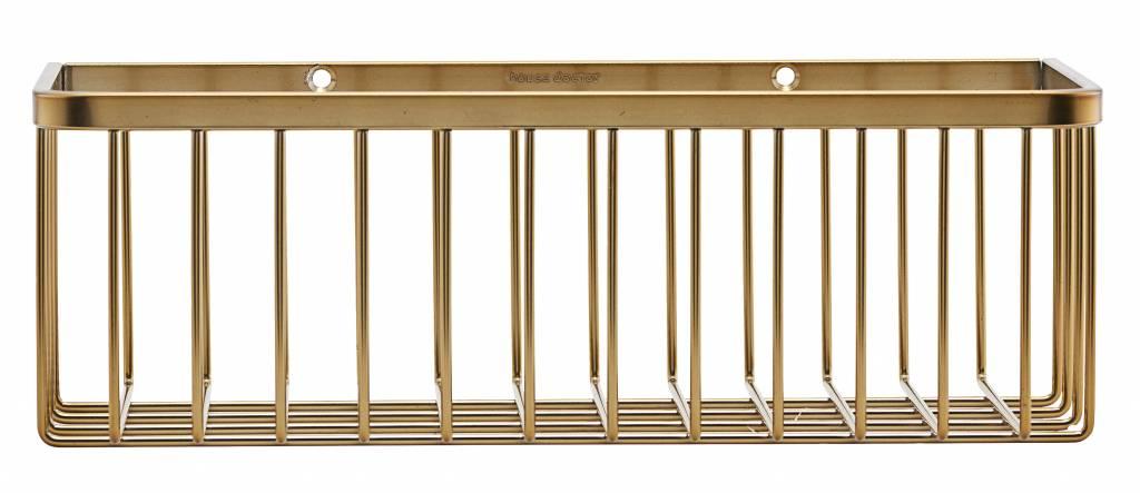 House Doctor Bath rack, gold, ankle
