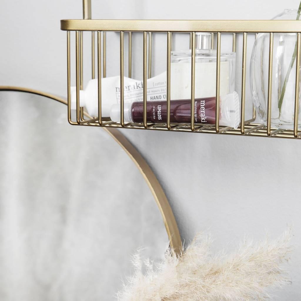 House Doctor Bath rack, gold, double