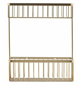 House Doctor Bath rack, gold, double